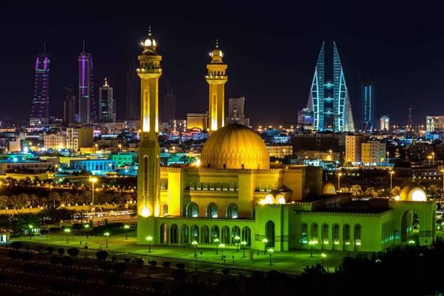 البحرين مسجد الفاتح الكبير