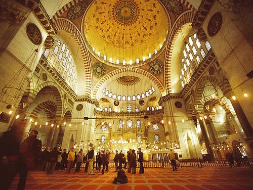 جامع السليمانية-تركيا
