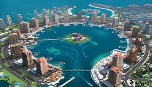 قطر جزيرة النخيل