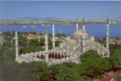مسجد السلطان احمد او الجامع الأزرق-تركيا